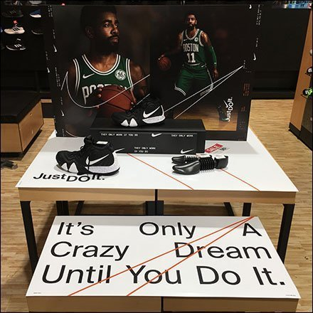 Only A Dream Until You Do It Nike Display