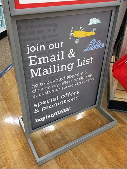 Join Buy Buy Baby Email And Mail Lists