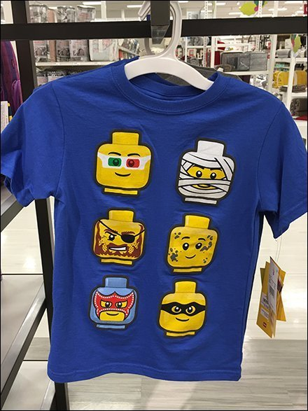 Lego Graphic T-Shirt Branded Apparel