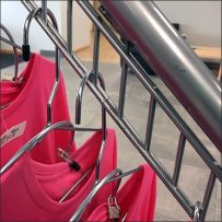 Mercedes Benz Pink T-Shirt Waterfall Rack