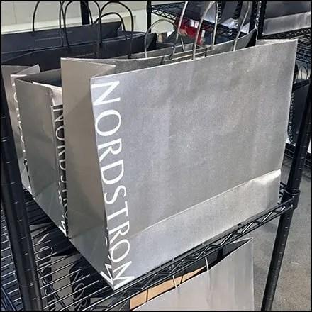 Nordstrom Order Pickup Branded Shopping Bags