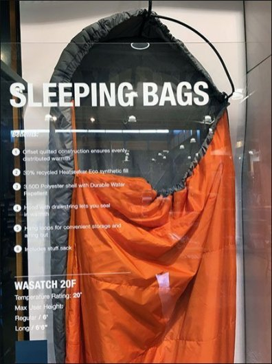 North Face Sleeping Bags Sleep Standing Up
