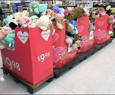 Saint Valentine's Plush Pallet-Load Promo