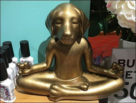 Puppy Padmasana Bath & Body Lotus Position Serenity