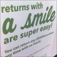 Returns With A Smile Are Super Easy Feature