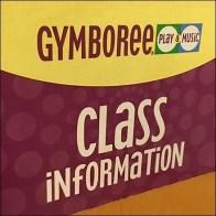 Gymboree Class Information Wood Literature Holder