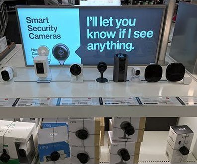 Security Squealer Electronics Display