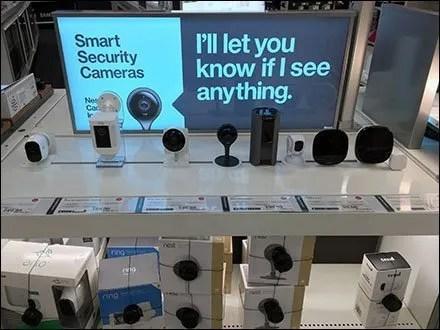 Security Squealer Electronics Display