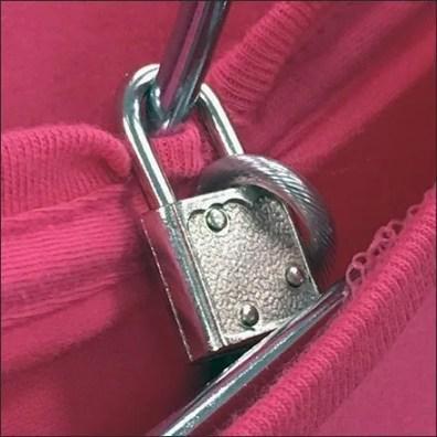 Mercedes Benz Anti-Theft Tee Lock Tether