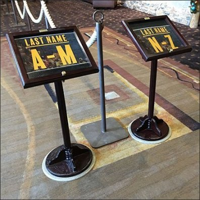 Alphabetic Queue Management at Kalahari Resorts Feature