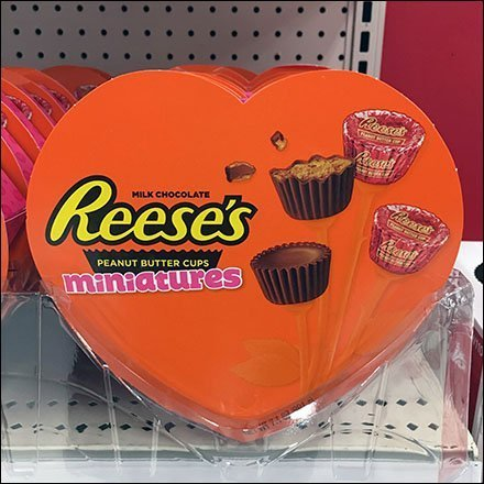 Peanut Butter Cups Celebrate Valentine's Day