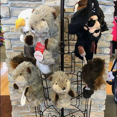 Golf Club Head Covers Merchandising