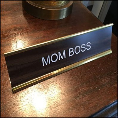 Engraved Name Plate For Domestic CEO Feature