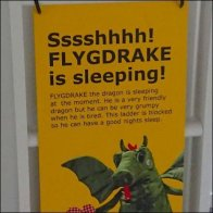 Beware Sleeping Dragon IKEA Danger Sign