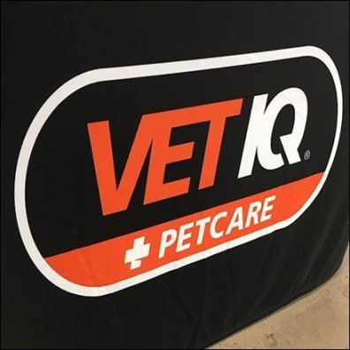 Free Vet IQ PetCare Table Drape