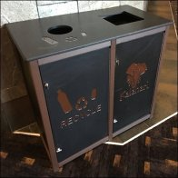 Hospitality Retail Branded Recycling Station