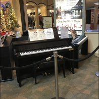 Mall Piano Sales Kiosk