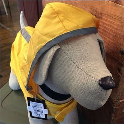 Puppy Rain Coat or Plush Toy Hoodie