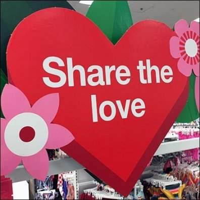 Share The Love Flyover Signage Feature