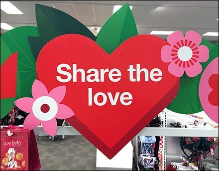 Share The Love Flyover Signage