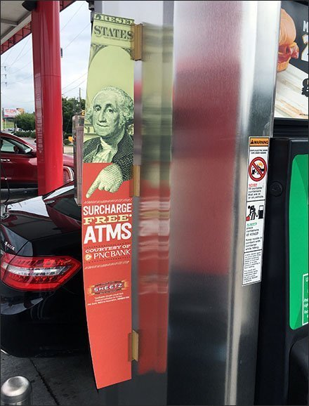 Sheetz Gasoline Pump ATM Violator