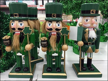 St. Patrick's Day Nutcracker Cross-Sell