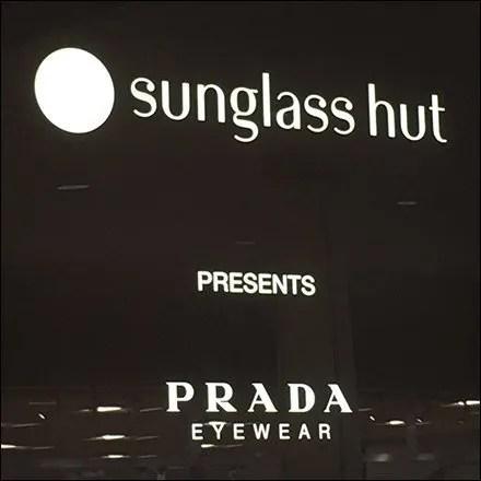 Brand Bragging Sunglass Hut Entry Sign