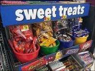Sweet Treats Gravity Feed Candy Display