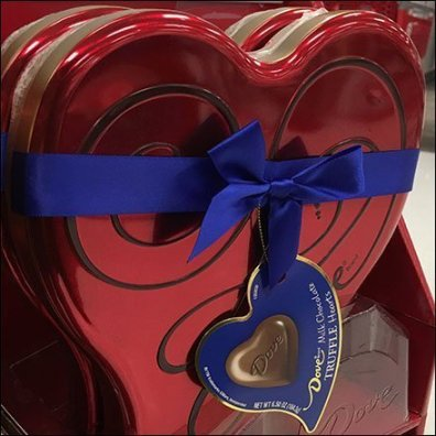Chocolate Truffle Hearts Highlight Valentine's Day