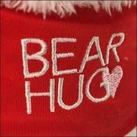 Valentine's Day Bear Hug Strip Merchandiser