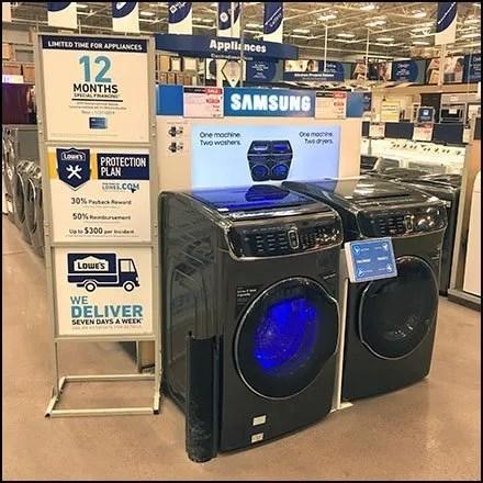 Appliance Merchandising Inducements Feature