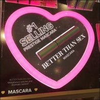 Better Than Sex Neon Heart Shape