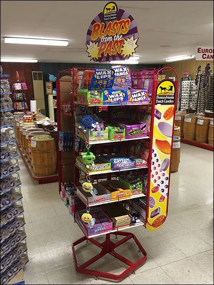 Blasts From The Past Candy Display Spinner