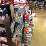 Crispy Fruit Strip Merchandiser Spinner 1