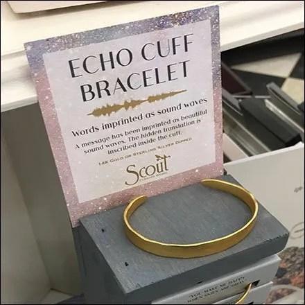 Echo Cuff Sound Wave Bracelet Tower