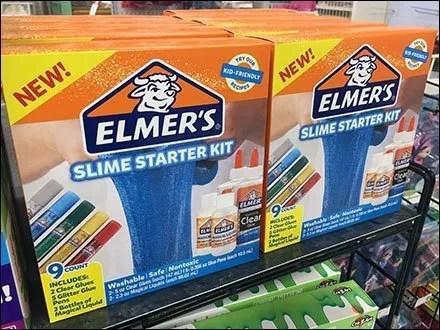 New Elmers Slime Starter Kit Merchandising