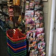Polish Language Newspaper Rack
