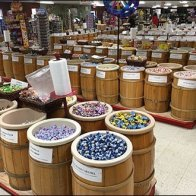 European Candy Barrel Bulk Merchandising