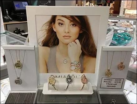Fashion Jewelry Anti-Theft Drawers