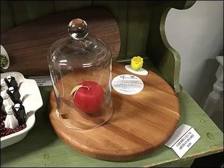 Food Prop Bell Jar Still Life Presentation