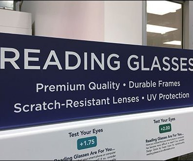 Foster Grant Reading Glasses Built-In Eye-Test