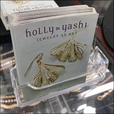 Jewelry As Art Business Card Brochure