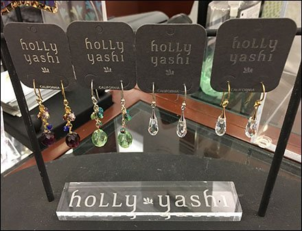 Holly Yashi Jewelry As Art Earring Display