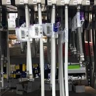 Visualizing Connector Hose Length At The Shelf Edge