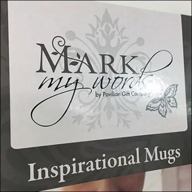 Inspirational Mug Gravity Feed Mobile Display