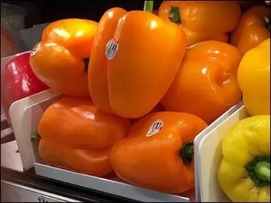 Plastic Pepper Trays Frame Produce