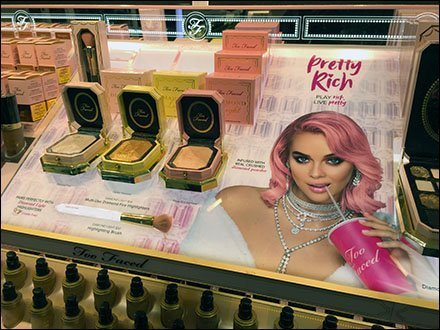 Too Faced Pretty Rich Counter-top Display