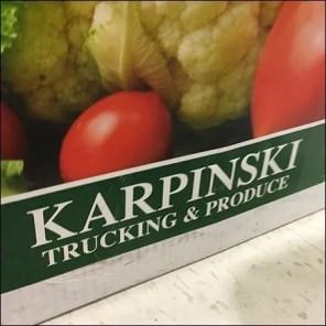 Truck Garden Produce Fresh From The Field