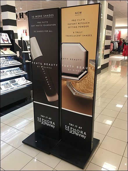 Try It At Sephora Dual Sign Stands