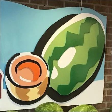Watermelon Merchandising and Display